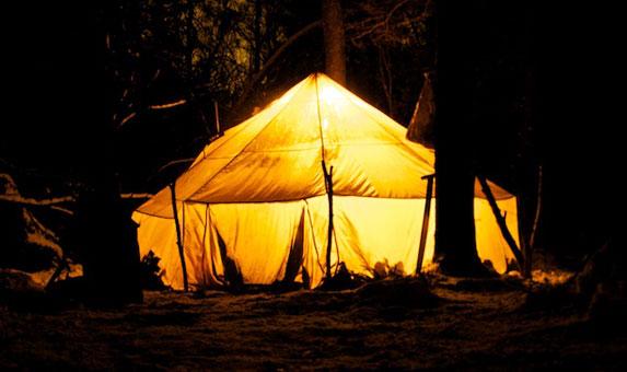 выбор зимней палатки