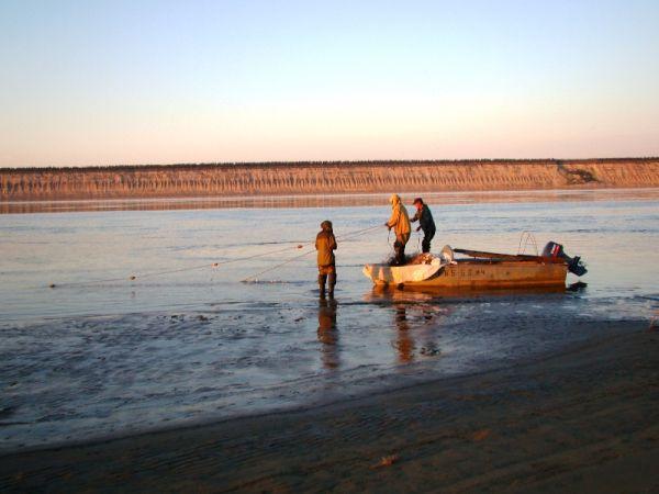 Рыбалка на притоках Лены