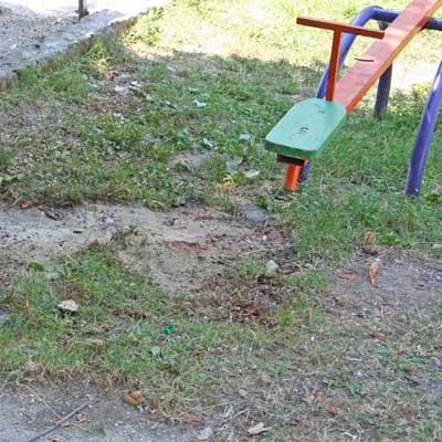 взрыв на детской площадке в Сочи