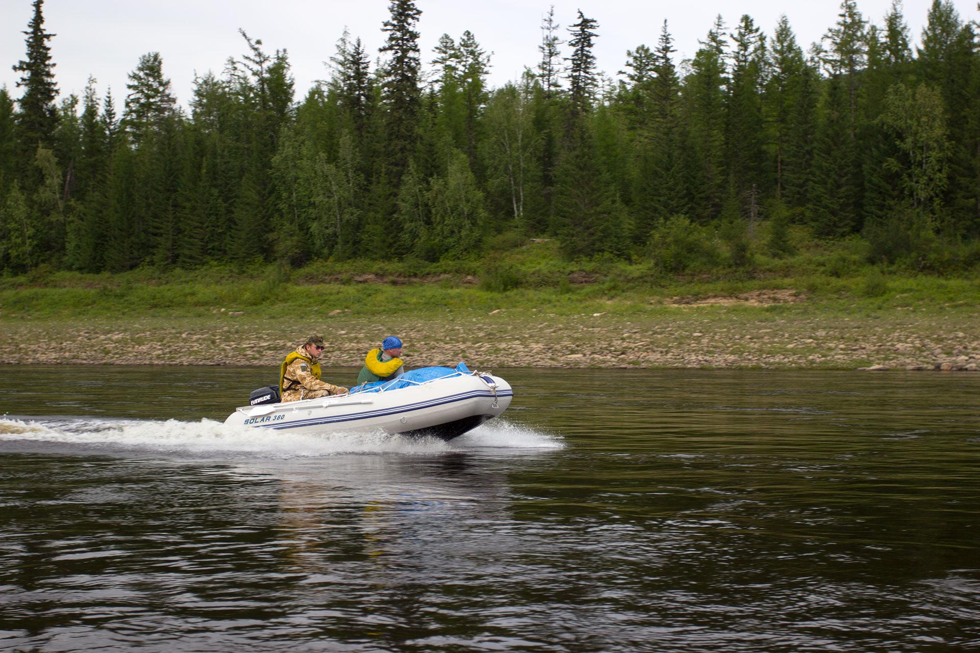 Надувная лодка ПВХ Солар
