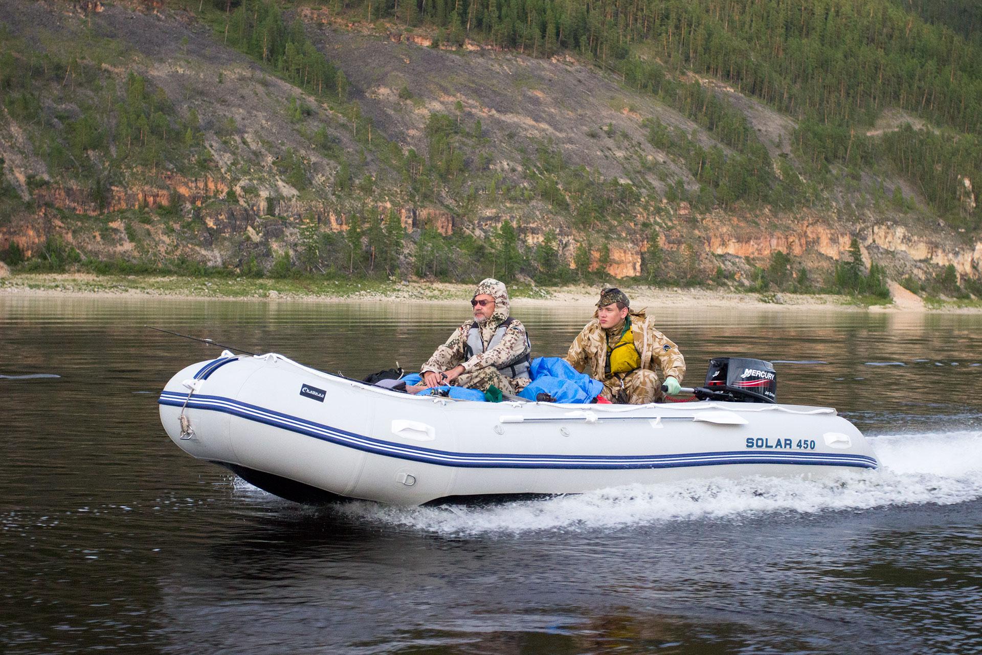 Надувная лодка Солар