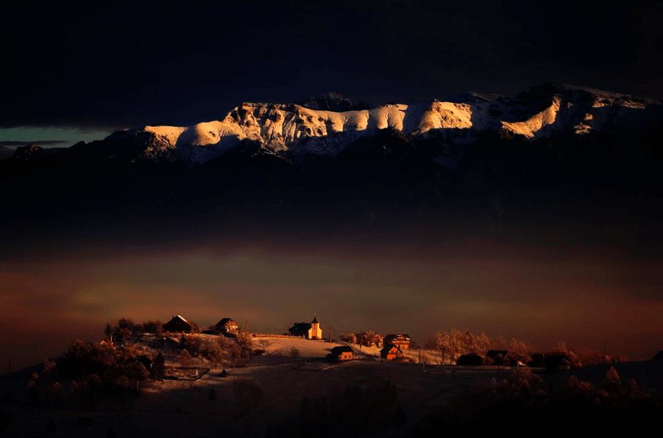 в объективе горы