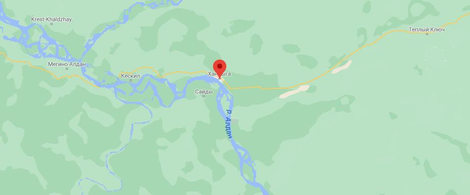 сведения о посёлке Хандыга