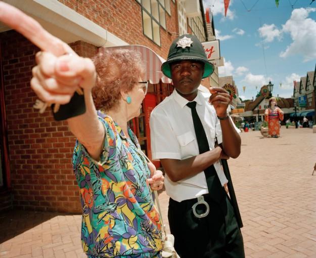 ZIMBABWE. Borrowdale. Sam Levy Village. 1995.