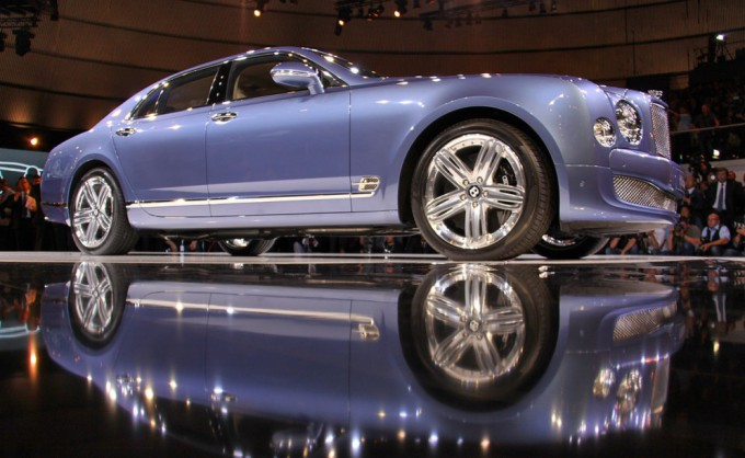 комплектация Bentley Mulsanne Diamond
