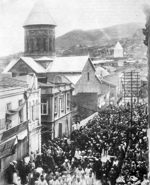 Похороны Ильи Чавчавадзе