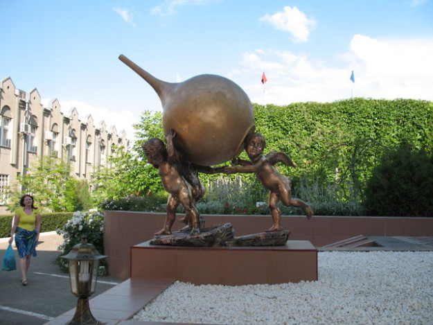 Памятник в городе Железноводск