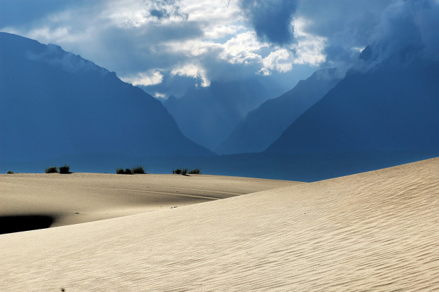Долина Чары в среднем течении