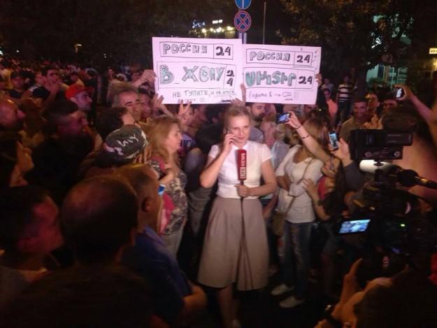 Российская пропаганда на выезде