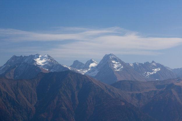 вершины массива Аишхо