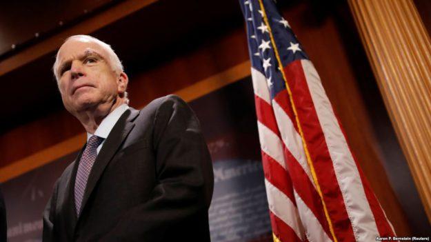 25 августа умер сенатор Джон Маккейн