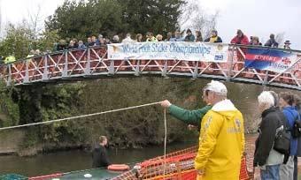 мост с которого бросал палочки Винни-Пух