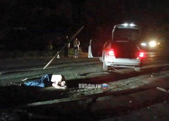 Таксист умер после ДТП от удара током и сбежал