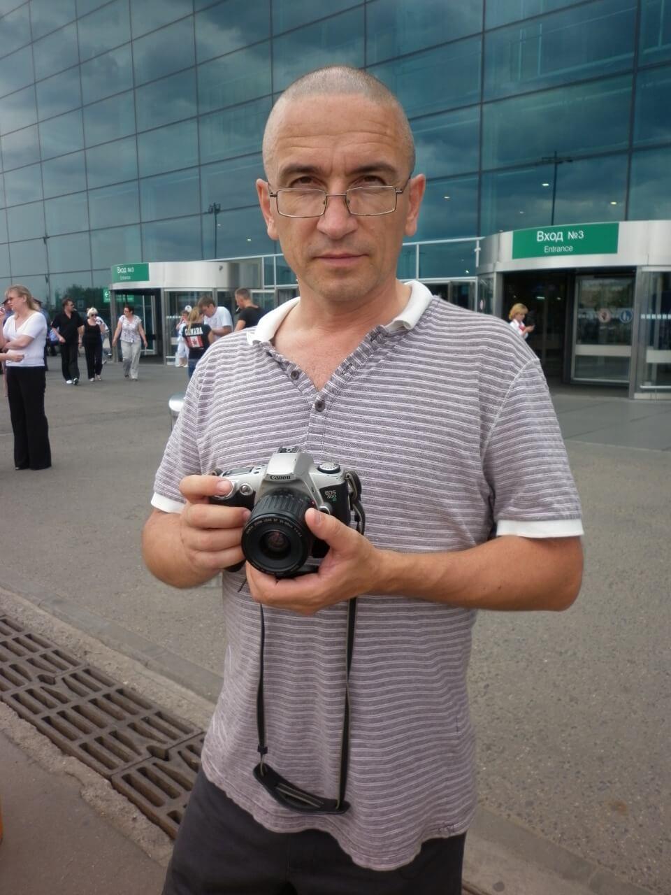Сергей Шинкарев в Москве
