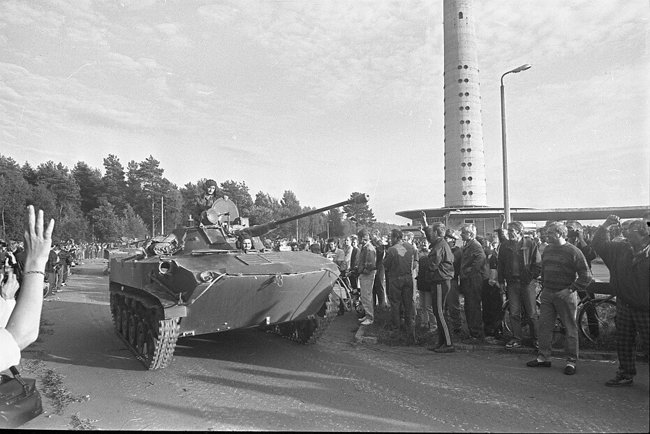 Оборона эстонского телецентра