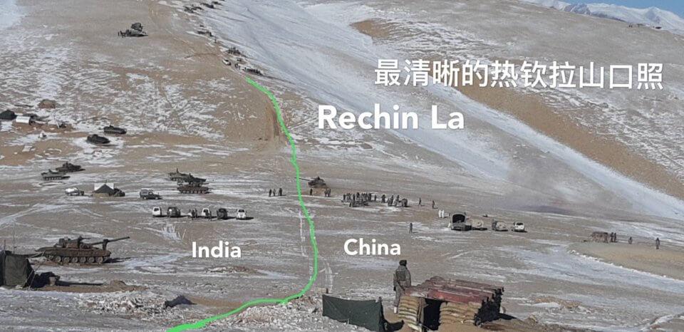 Индия и Китай — зона боевых действий